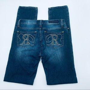 Rock & Republic Berlin Skinny Jeans, Size 4 M, EUC